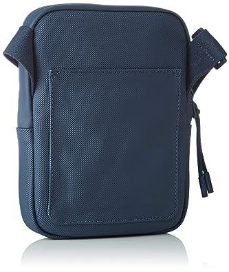 Lacoste - Nh2715po, Shoppers y bolsos de hombro Hombre, Azul (Blue Wing Teal), 2.5x20.5x15.5 cm (W x H L): Amazon.es: Zapatos y complementos