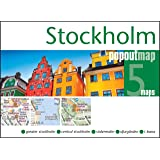Stockholm PopOut Map - handy pocket-size popup city map of Stockholm (PopOut Maps)