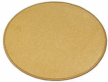 Teppich rund gelb  Amazon.de: Banton Teppich (80 cm rund, Gelb)
