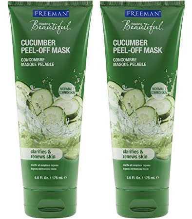 Freeman feeling beautiful facial peel off mask cucumber