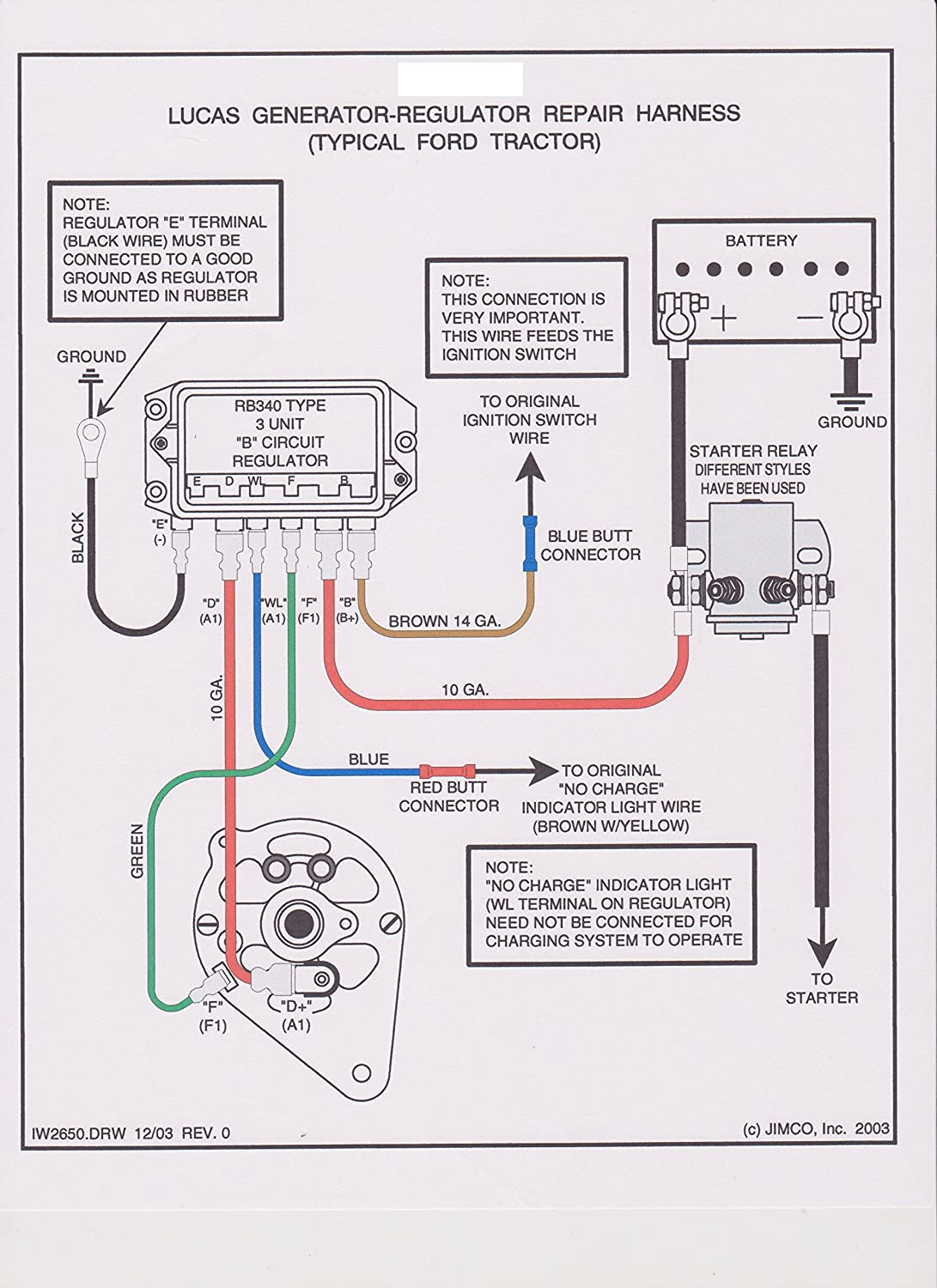 9n Ford Tractor Alternator Wiring Diagram 12 Volt 1 Wire Electrical Farmall