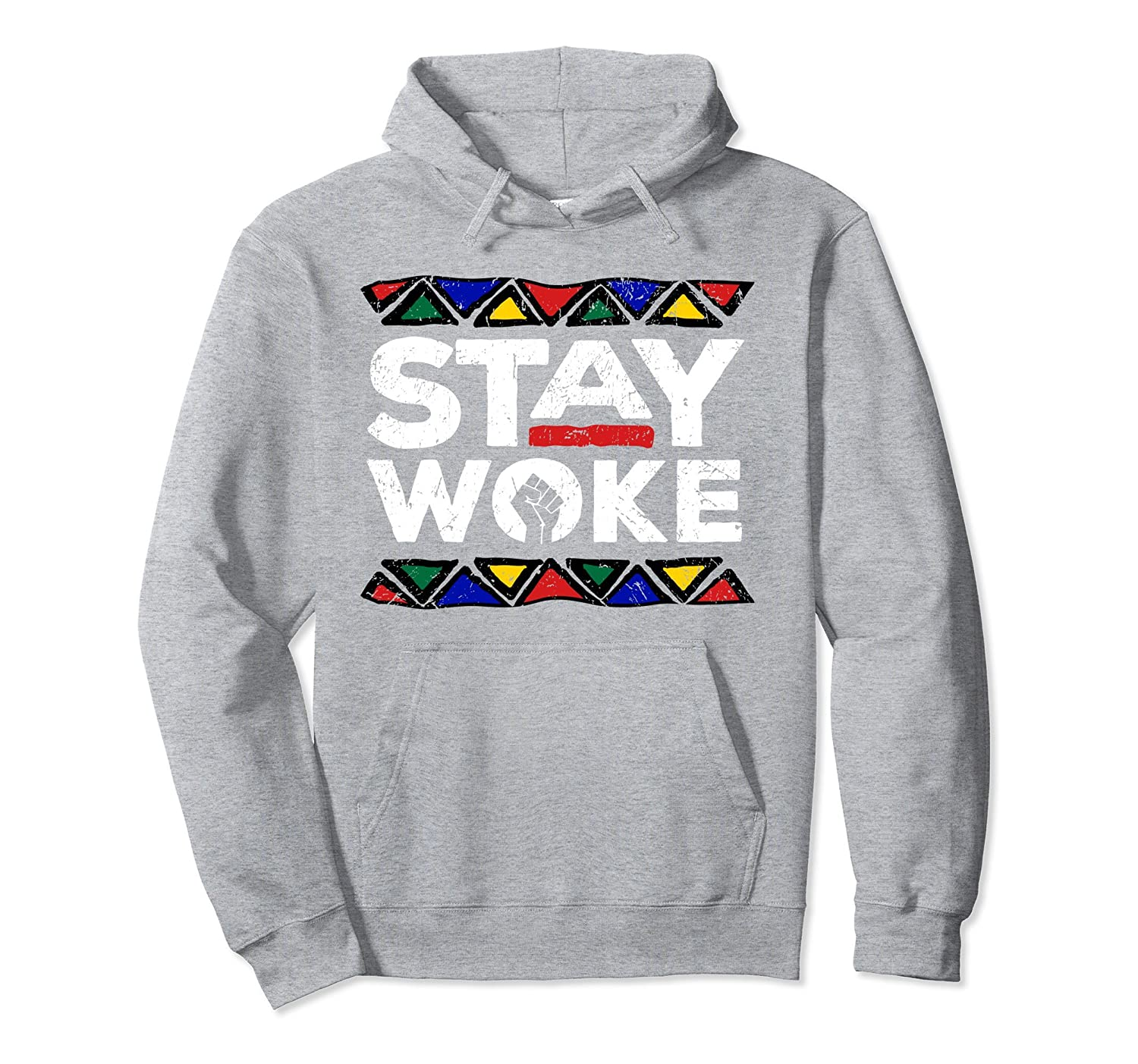 Stay Woke Black History Month Pride Panthers Gift Hoodie-AZP
