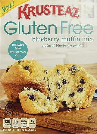 krusteaz, sin gluten, Blueberry Muffin Mix con salvajes ...