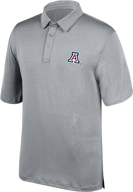 Black J America NCAA Mens Army Black Knights Yarn Dye Striped Team Polo Shirt Small