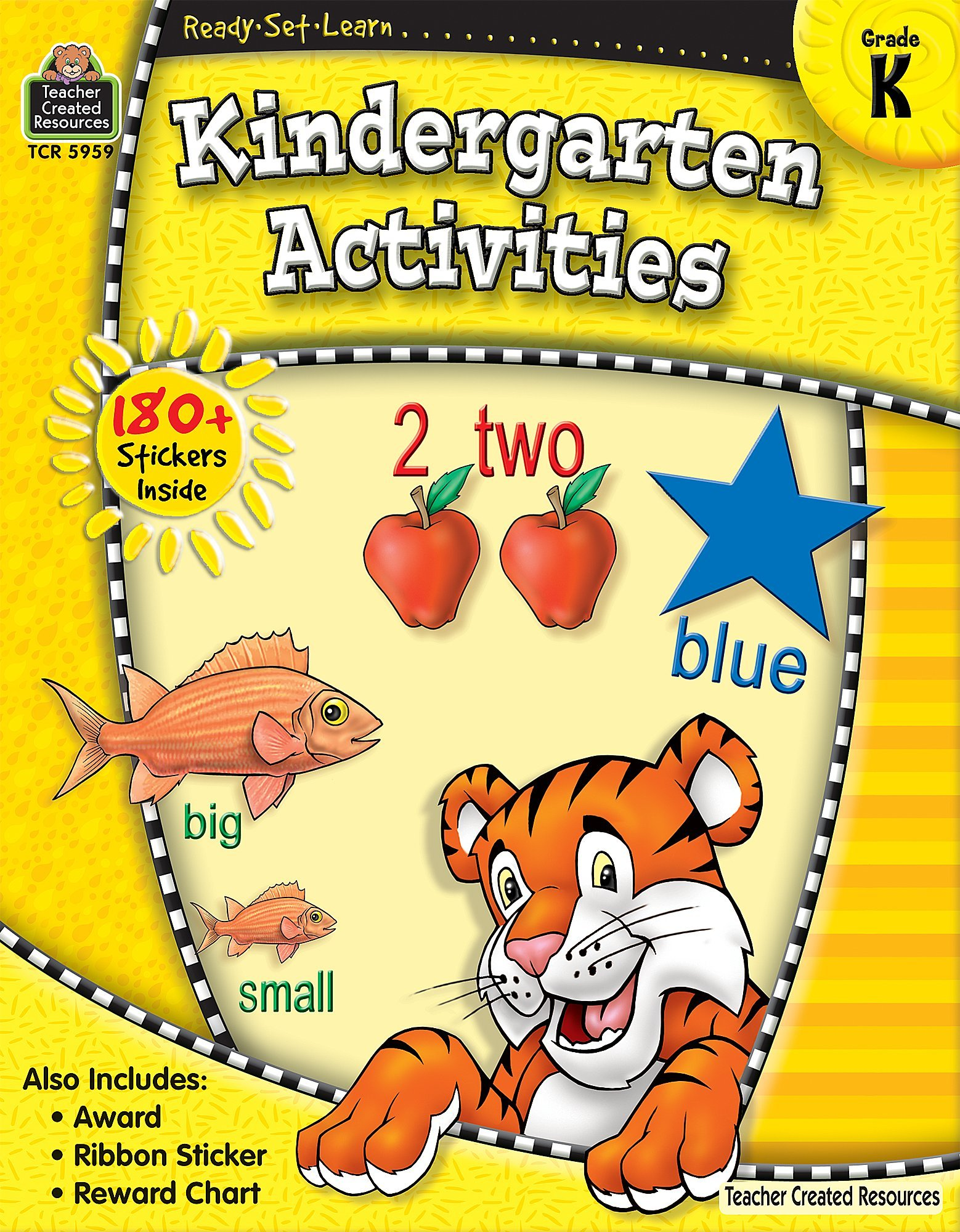 Ready Set Learn Kindergarten Activities Teacher Created Resources