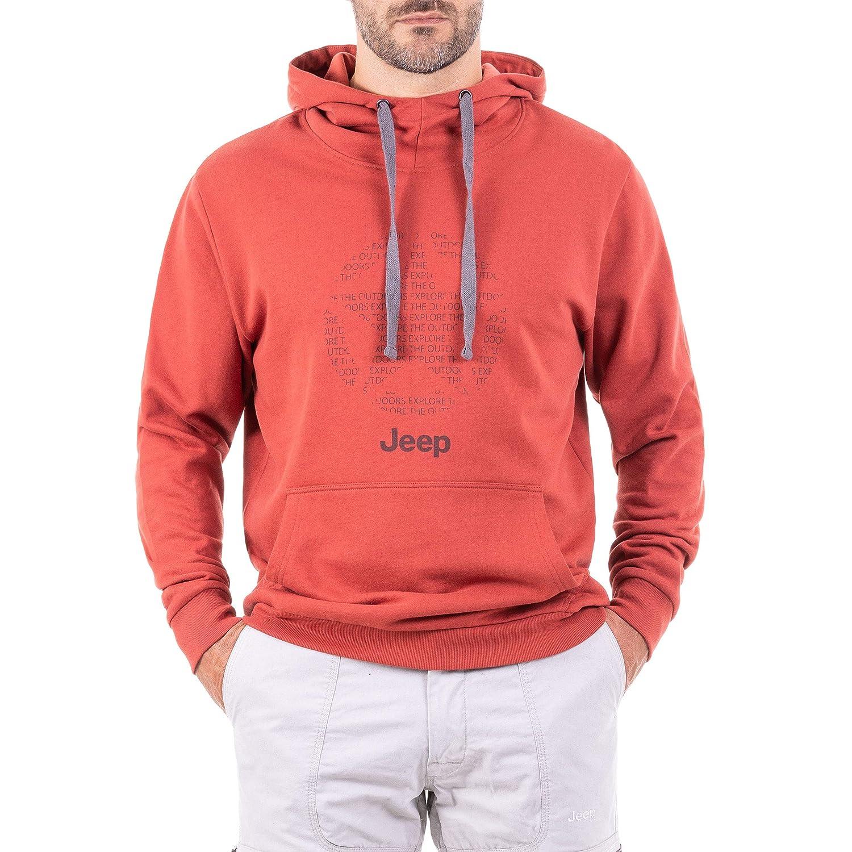 Jeep Herren Allover Kapuzen-Star Allover Herren J8w Sweatshirt feb6dc