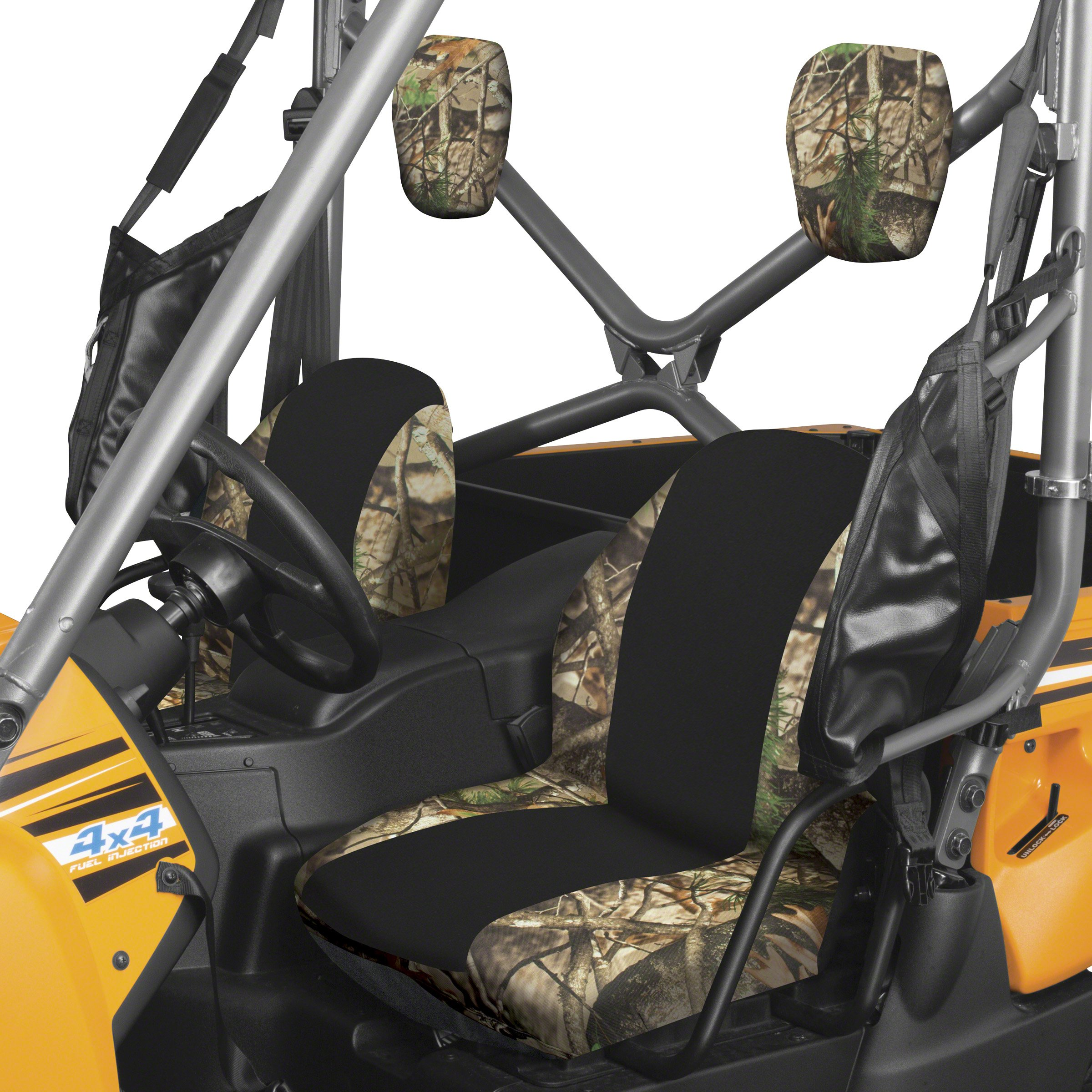 Classic Accessories 18-145-016003-00 Next Vista G1 Camo QuadGear UTV Bucket Seat Cover