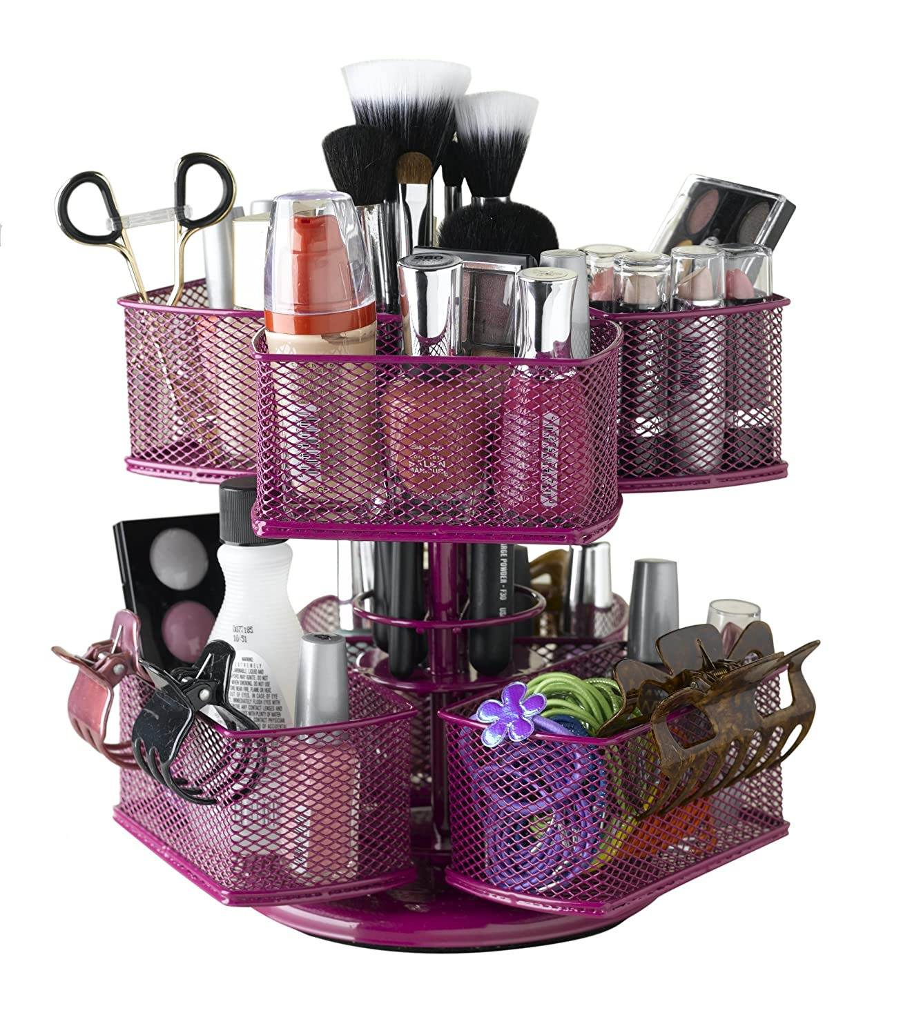 bathroom make-up organizer