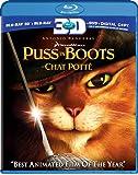 Puss in Boots - Le chat potté [Blu-ray 3D + Blu-ray + DVD + Digital Copy] (Bilingual)