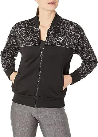 PUMA Womens Classics Track Jacket All Over Print Jacket
