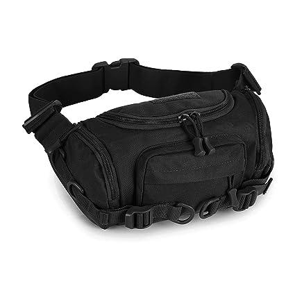 24ccdc435a48 Huntvp Military Fanny Pack Tactical Waist Bag Pack Bumbag Shoulder Bag  Crossbody Bag Water-Resistant