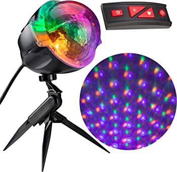 Gemmy Lightshow Points of Light Halloween Projector with Remote