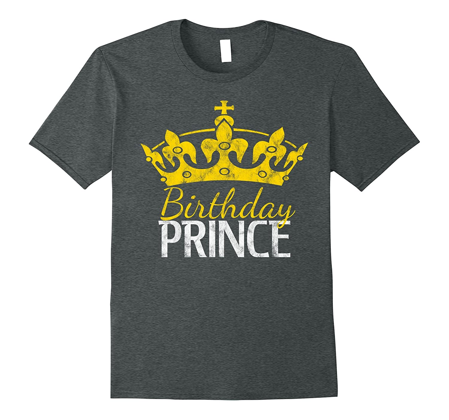 Birthday Prince T-Shirt - gift for men and boys-ah my shirt one gift