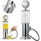 YaeBrew Gas Pump Liquor Dispenser - Gun Barware Mini Beer Pourer Water Liquid Bar Drinking Alcohol Dispenser Wine Pump Dispenser Machine - Whiskey / Bourbon Decanter (Single Gun)