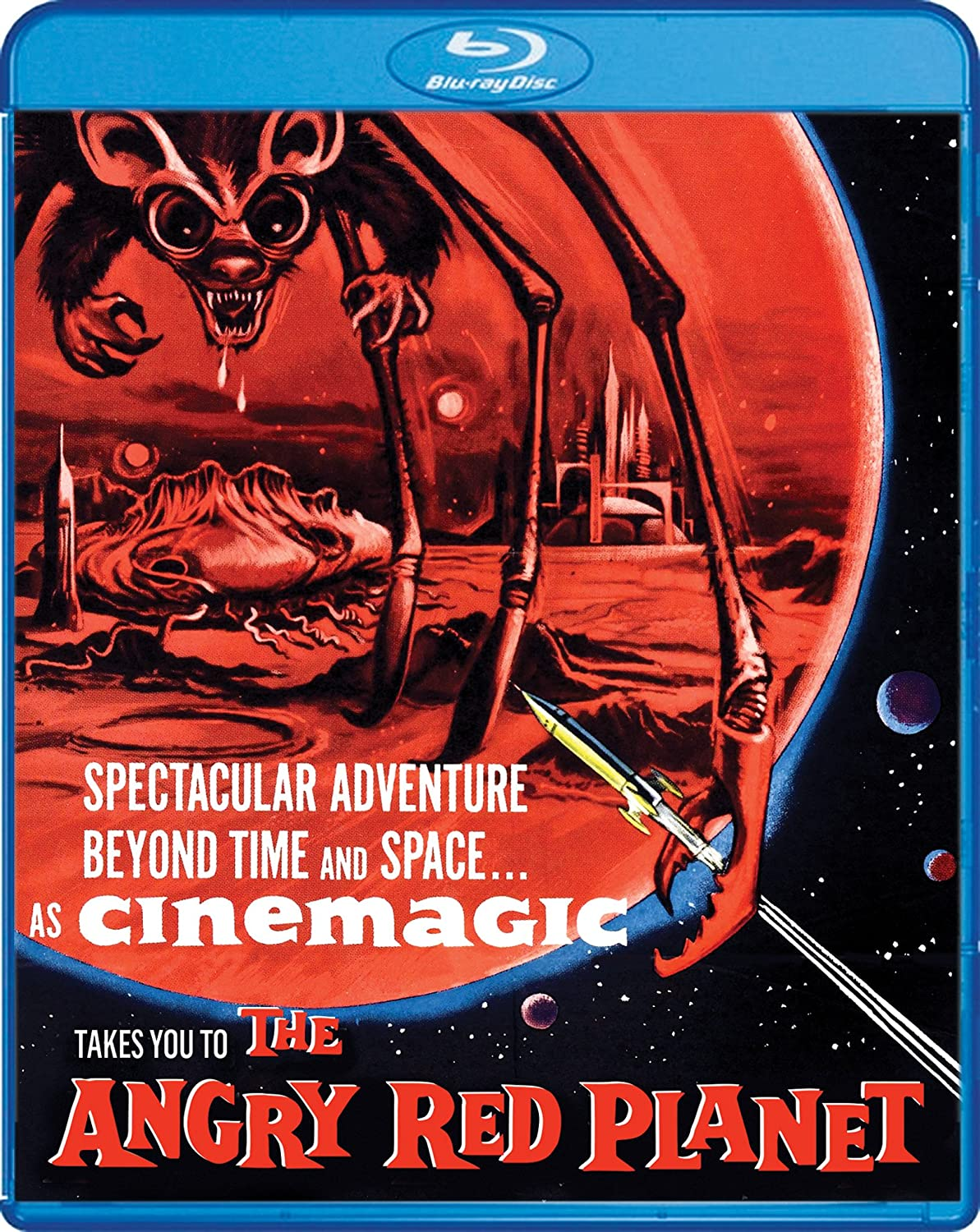 Amazon.com: The Angry Red Planet [Blu-ray]: Jack Kruschen, Nora ...
