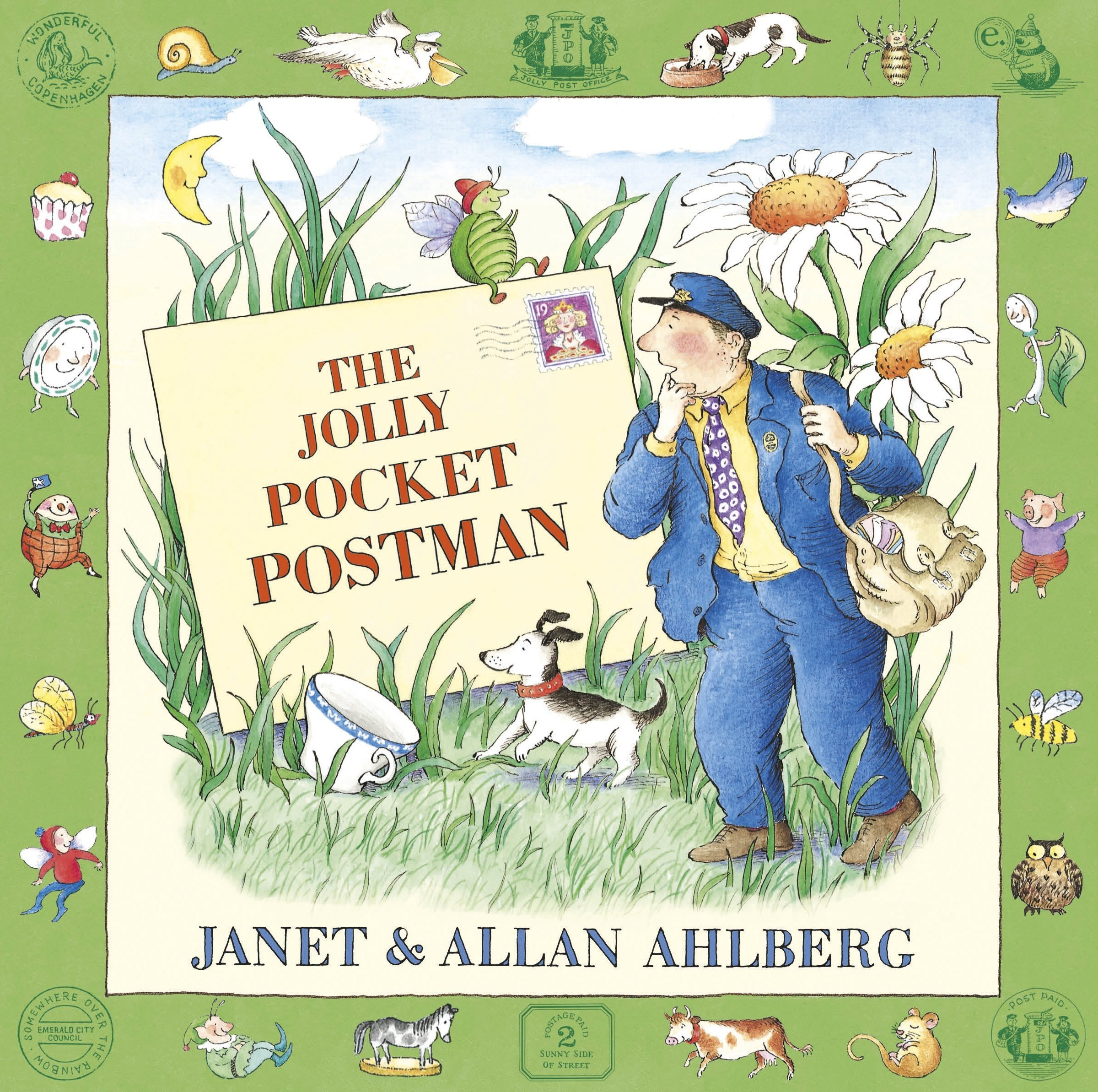 the jolly pocket postman, the jolly christmas postman, the jolly ...