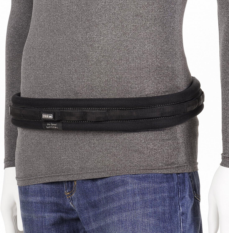 Small//Medium, Black Think Tank Photo Pro Speed Belt V3.0