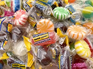 Hostess Hard Candy Assortment, Jolly Rancher Candy, Dad's Root Beer, Starlight Candy, and More - Bulk Pack 3 Lbs