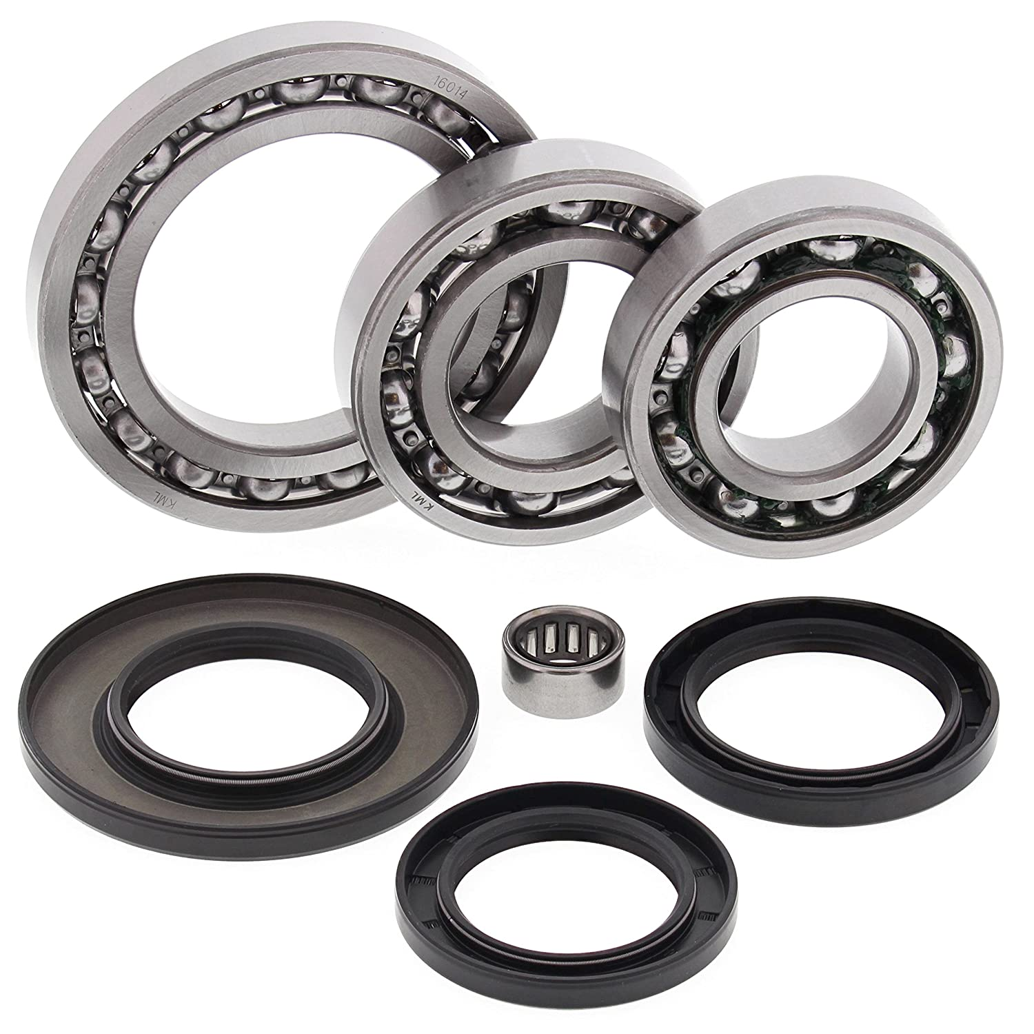 All Balls 25-2023 Differential Bearing and Seal Kit Rear All Balls Racing