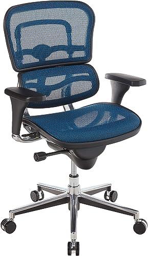 Eurotech Seating Ergohuman Mid Back Mesh Swivel Chair - a good cheap office desk chair