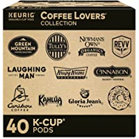 Keurig Coffee Lovers' Collection Sampler Pack, Single-Serve K-Cup Pods, Compatible with all Keurig 1.0/Classic, 2.0 and…