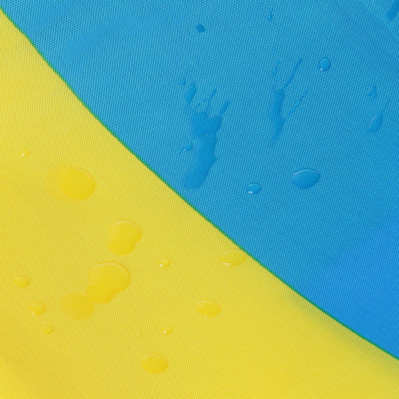 TRIXES Pancarta Colgante Gran Bandera Nacional Sueca con Anillos de 90 X 150 cm para Eventos Deportivos y Celebraciones Nacionales