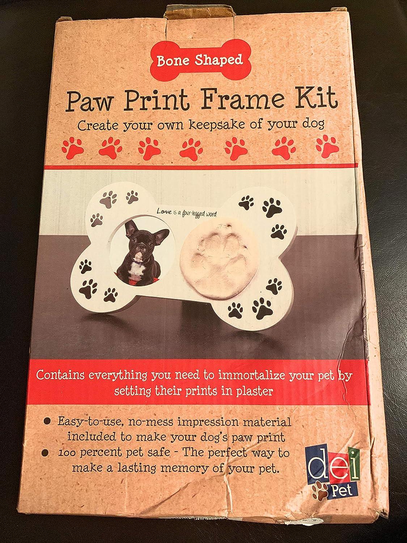 DEI Bone Shaped Paw Print Frame Kit