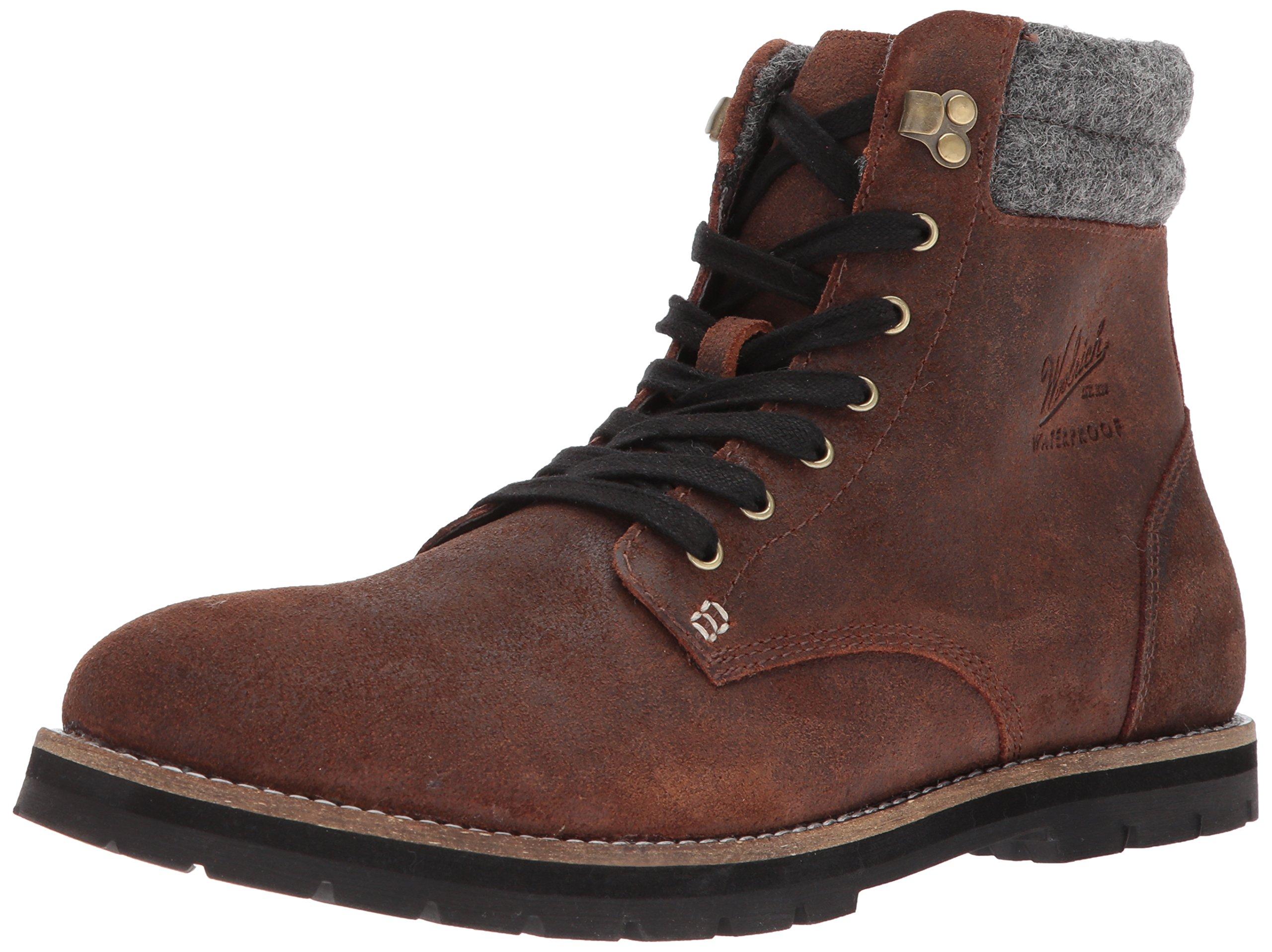 Woolrich Men's 1830 Explorer Chukka Boot, Chocolate/Ash, 12 M US