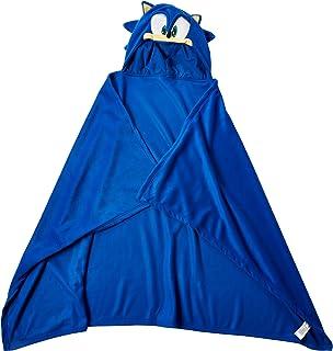 b130884cce7 Great Eastern Sonic The Hedgehog GE-34020 Sonic Head Hoodie Blanket 57