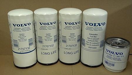 Amazon.com: Volvo Truck 85132689 Engine Filter Kit for D11, D13, D16:  Automotive | Volvo Semi Truck Fuel Filter Location |  | Amazon.com