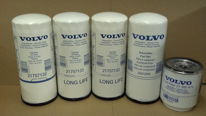 Amazon.com: Volvo Truck 85132689 Engine Filter Kit for D11, D13, D16:  Automotive