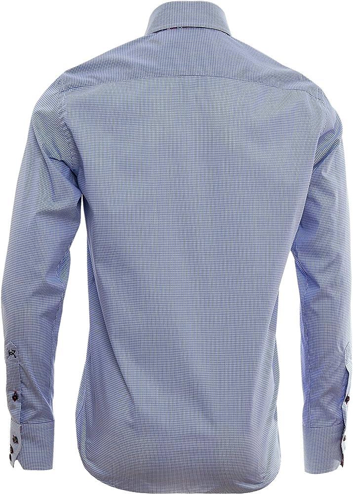 Giorgio Capone camisa premium para hombre, 100% algodon, Slim/Normal & Regular-Plus Fit (S Slim): Amazon.es: Ropa y accesorios
