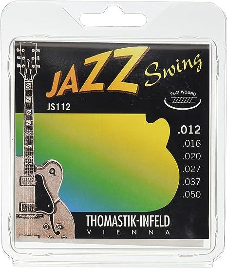 Thomastik Cuerdas para Guitarra Eléctrica Jazz Swing Series niquel ...