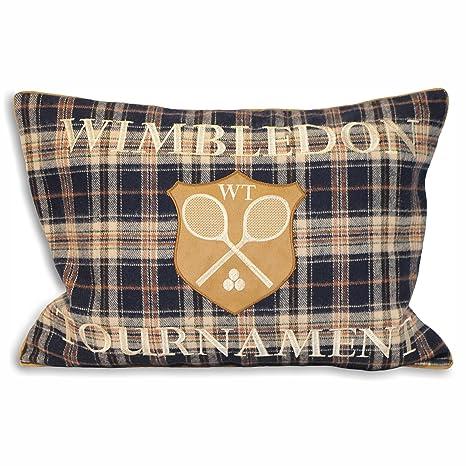 Paoletti Wimbledon - Funda de cojín, diseño de Cuadros ...