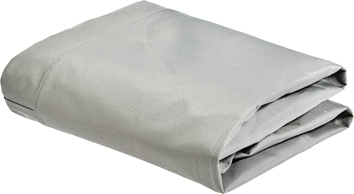 AmazonBasics Outdoor Patio Stackable Chair Cover – Waterproof, 100 Woven Polyester – Grey
