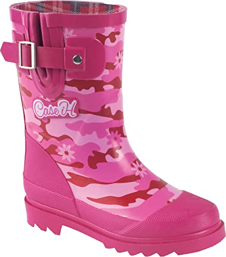 Case IH Girls' Pink Camo Rubber Boot