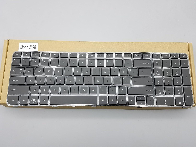 New Laptop Keyboard with Frame for HP Pavilion DV7-4000 DV7-4051NR WQ870UA DV7-4053CL WQ867UA DV7-4060US WQ859UA DV7-4061NR WQ871UA DV7-4296NR DV7-4297CL DV7-4313CL series Black US Layout,DV7-4000