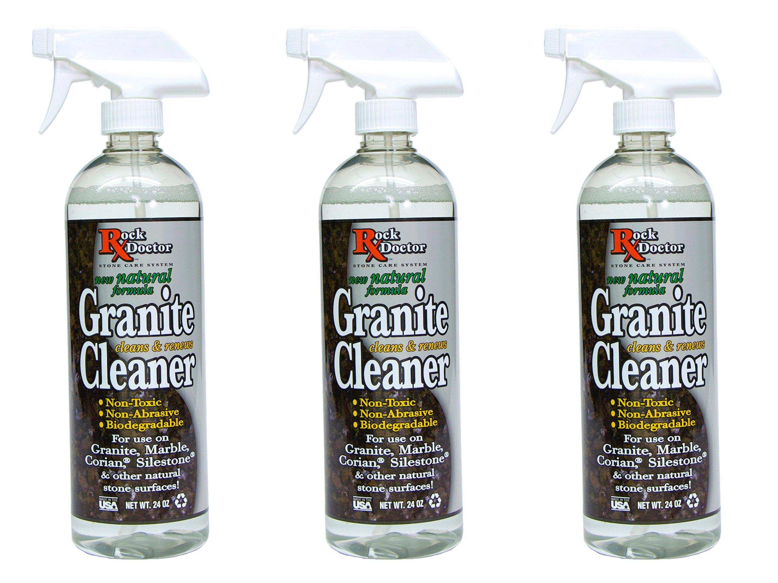 24 Oz. Rock Doctor All Natural Granite Cleaner (Bundle of 3 Bottles)