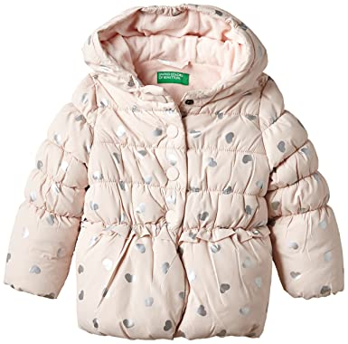 United Colors of Benetton 2PO2531LP Heat Puffa, Abrigo para Niñas, Rosa, 12-18 Meses: Amazon.es: Ropa y accesorios