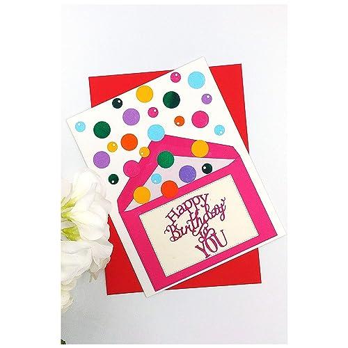 Carte Anniversaire Jet De Confettis Enfant Birthday Card For Kid Carte Anniversaire Lance Confettis Carte D Anniversaire Fille Carte Amazon Fr Handmade