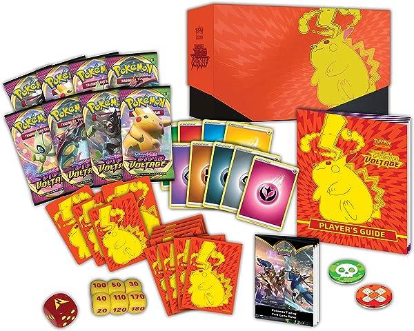 Pokémon Cards: Sword & Shield 4 Vivid Voltage Elite Pikachu – Trainer Box