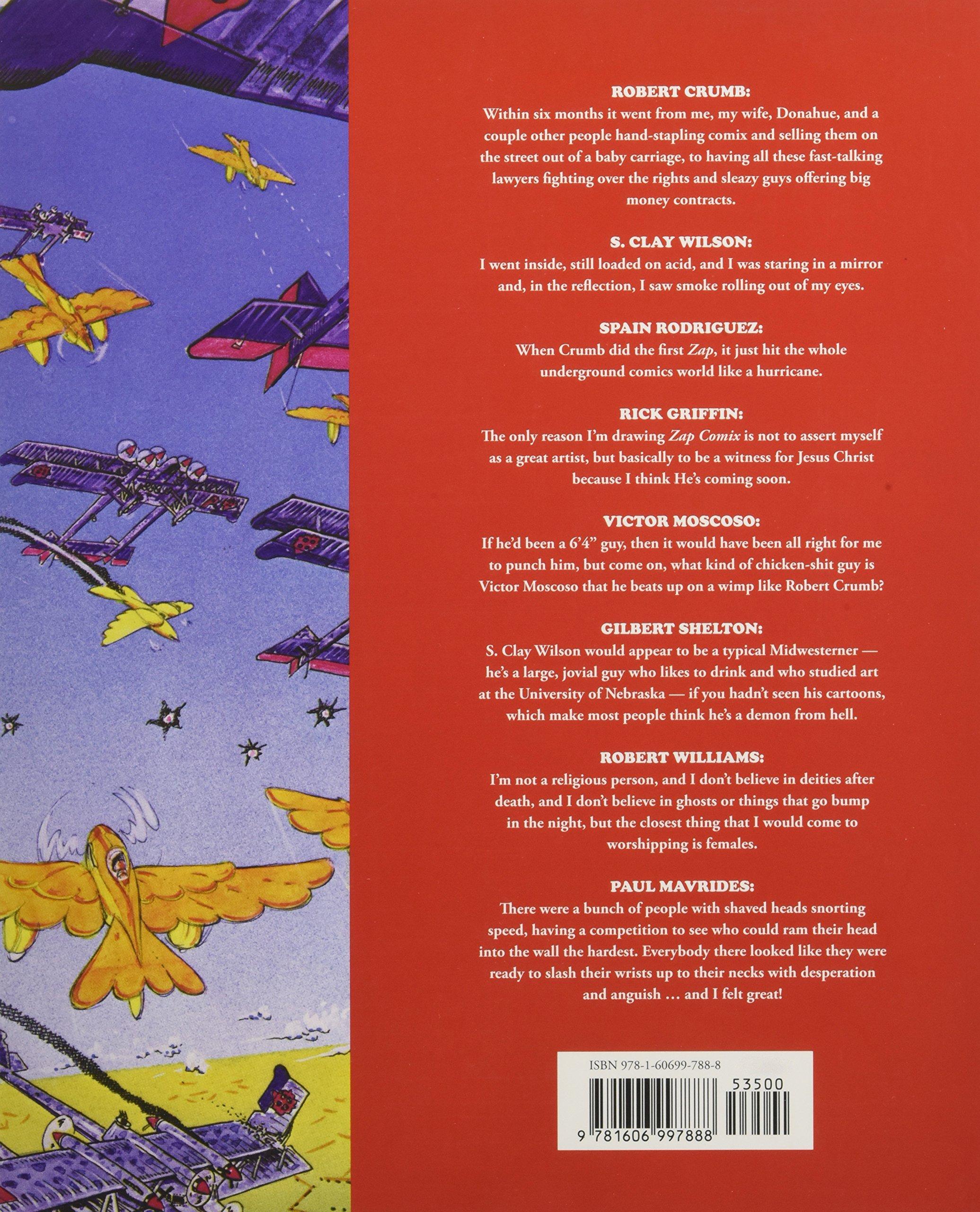 Zap: The Interviews: 0 (Comics Journal Library): Amazon.es: Rosenkranz, Patrick, Groth, Gary, Dean, Michael: Libros en idiomas extranjeros