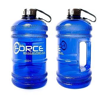 Botella de agua de tritán extra fuerte, 2,2litros Plá