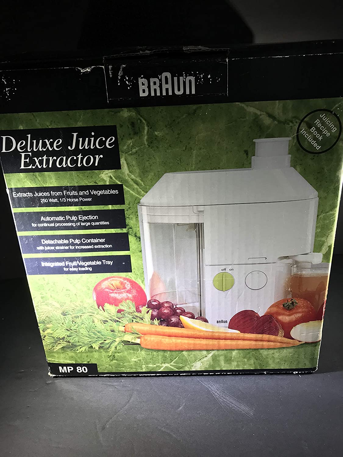 Braun Deluxe Juice Extractor with Automatic Pulp Ejection