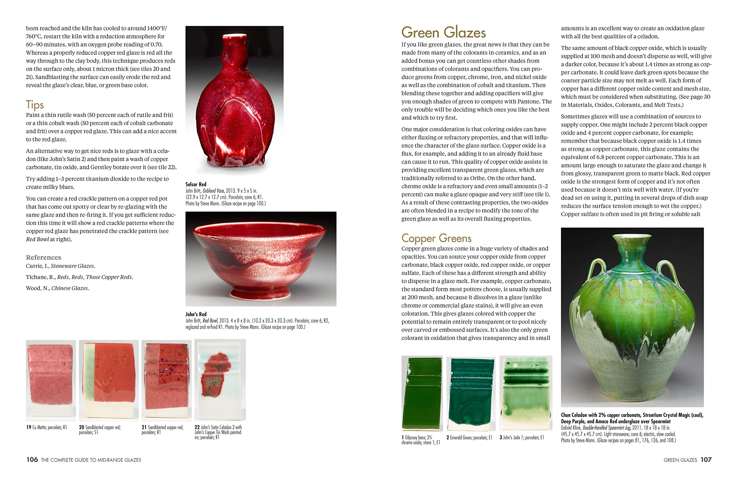 The Complete Guide to Mid-Range Glazes: Glazing and Firing