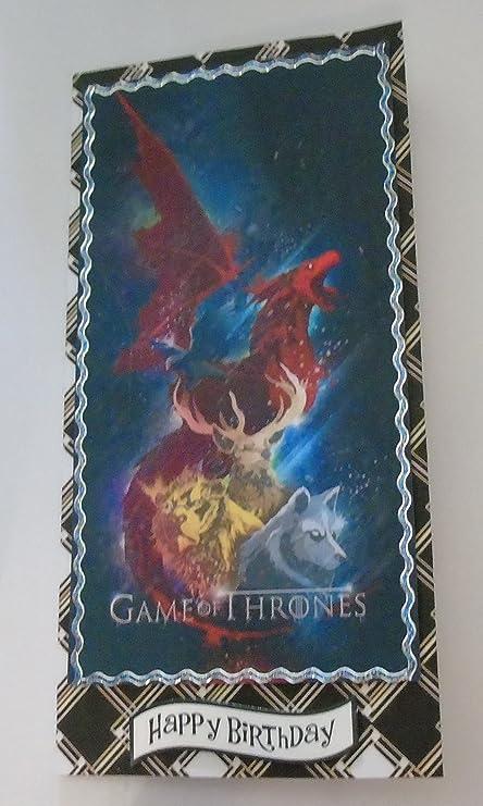 Hecho a mano juego de tronos inspirado en tarjeta de ...