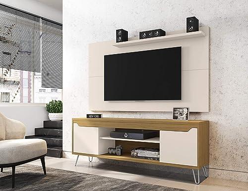 Manhattan Comfort Baxter Mid-Century Modern TV Stand and Liberty Panel