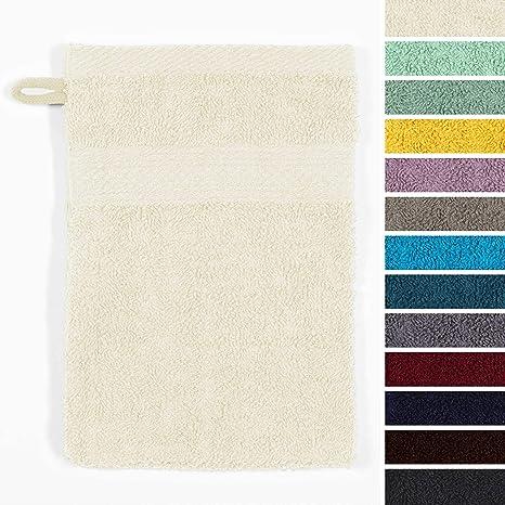 Lumaland Premium Set 10 Toallitas 16 x 21 cm 100% Algodón 500 g/m