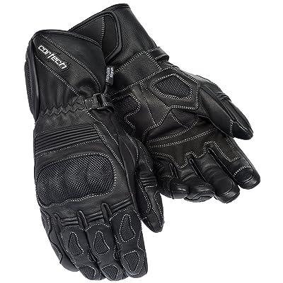 Cortech Men's Scarab 2.0 Winter Motorcycle Gloves (Black, Large): Automotive