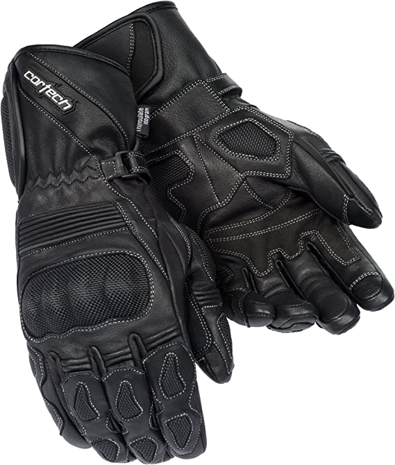 Cortech Men's Scarab 2.0 Winter Motorcycle Gloves (Black